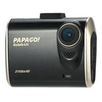 PAPAGO GoSafe 525 Ambarella A7L OV4689 العرض 2.0 بوصة LCD سيارة DVR كاميرا G الاستشعار 1296P 155 درجة زاوية للرؤية الليلية - أسود + الذهب