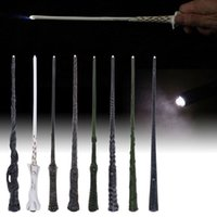 Regalo Hermione Luce Harry Botter bacchetta magica LED Voldemort Sirius Cosplay Magic Wand Kids Toy Festa di Natale del DHL