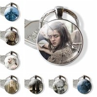 10pcs lots Keychain New product Game of Thrones Charms Penda...