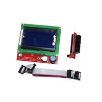 20PCS RAMPS1.4 LCD لوحة تحكم LCD 12864 للطابعة 3D المراقب الذكية