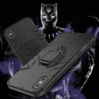 Armor Phone Case Invisible Bracket Cover Ring Buckle Anti- fa...