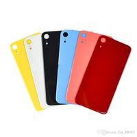 Battert Geri Cam Konut Kapak iphone XR XS Maksimum Cep Telefonu Konutları Yedek Parçalar Çok Renkli