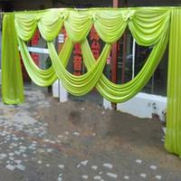 Fio de fundo de casamento criativo fio requintado manto cabeça decoração de palco adereços modelagem pano cor vermelho azul amarelo vender bem 170yl k1