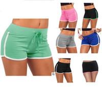 سروال المرأة الصيف السراويل الرباط اليوغا الرياضة رياضة وترفيه Homewear للياقة البدنية القصيرة شاطئ السراويل الجري اللباس تجريب رياضية جديدة