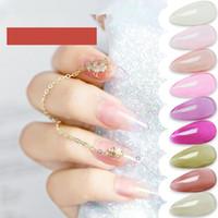 Hot Nail Art sporca Ultima impregna-fuori polacco UV del gel traslucido Glaze Ambra Glass Gel UV per unghie giapponese del gel del chiodo del manicure della lacca G224