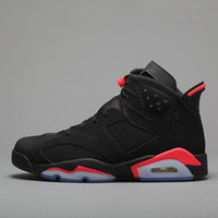 6s basketball shoes 6 Black Infrared 3M reflection new arriv...
