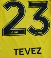 17 18 Boca Juniors impression football TEVEZ lettres ensemble de noms d'estampillage du joueur CARLITOS police 08 11 Boca autocollants de football en plastique vintage