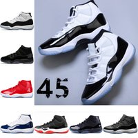 e25ac36515d5d Nike jordan Concord High 45 11 XI 11s Gorra y bata PRM Heiress Gym Red  Chicago