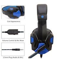 Soyto SY830MV Headphone E-sports Gaming Headset Computer PS4 interruptor jogo de computador Headset com trigo