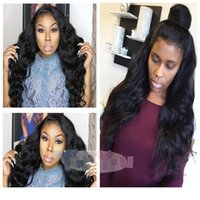 Glueless Lace Front Human Hair Wigs For Black Women Natural ...