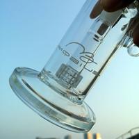 Freies DHL Mobius Sidecar Mini Bong Dab Rigs Glas Wasser-Rohre mit 18mm Bowl Stück Matrix Perc Rauchen Wasserpfeife MB01