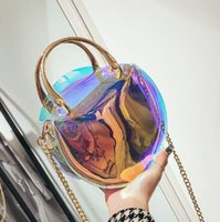 KISUMATER 2018 Hot Women Transparent Bag Jelly Handbag Candy...