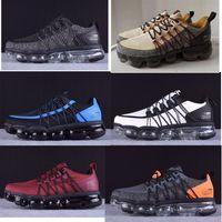 2019 Run Utility Hombres Zapatos de correr Mejor Calidad Negro Antracita Blanco Reflejo de plata Solar zapatos deportivos Zapatillas deportivas Tamaño 40-45