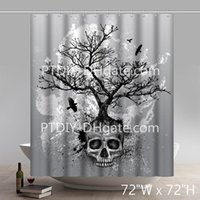 Creative Skull Tree Day of the Dead Abstract Colorful Tree P...