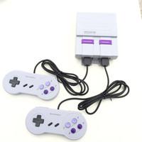 Super Clássico SFC TV Handheld Mini Consoles de Jogos 2018 Mais Novo Sistema De Entretenimento Para 660 SFC NES SNES Consola de Jogos