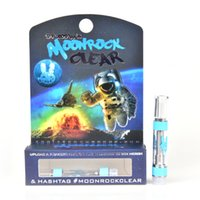 Moonrock Clear Cartridge with logo Dank Vapes 510 Thread 1 G...