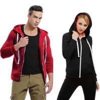 Hoodies Autumn Spring Men Women Zipper Cardigan Sweatshirts Hooded Solid Color 19SS European Size