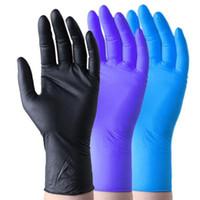 guanti in lattice monouso di nitrile, 3 tipi di specifiche facoltativi antiscivolo guanti antiacido guanto di gomma B grado di pulizia alimentari Guanti