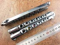 BM42 나비 벤치 메이드 나이프 TheOne 시스템 클래식 스윙 CNC 피팅 (440) 블레이드 (리플렉터 스타일) EDC 도구를 피팅 60HRC BM940 BM43 BM62 칼