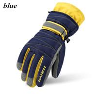 guantes de esquí marca de moda NANDN adultos neutra niños de invierno a prueba de viento impermeables antideslizantes más gruesos guantes de abrigo de terciopelo