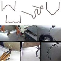 Pinzate a onde da 0,8 mm per saldatrice di plastica per riparazione in plastica auto paraurti bodywork bobina ABS Nylon PP riparazione