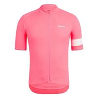 Rapha equipe ciclismo mangas curtas jersey 2019 Hot homens MTB Seco Rápido Bicicleta Respirável Esporte Ropa Ciclismo Hombre U60101