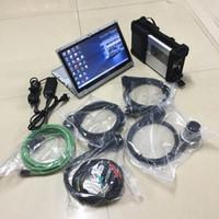 Outil de diagnostic MB STAR C5 SD Connectez-vous avec ordinateur portable CF-AX2 480G SSD 2021.03V D.AS/ DTS / HHT pour camions de voitures