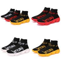 Satış Yeni type6 serin yumuşak kırmızı, sarı altın, beyaz, siyah ucuz Klasik deri Yüksek kaliteli Sneakers Süper Star adam Spor Casual Ayakkabı mens