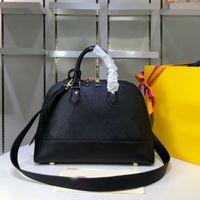 Сумочка Crossbody Сумка Tote сумки Горячие продажи Высокое качество Мода Shell сумка Top Handle съемный плечевой ремень из натуральной кожи
