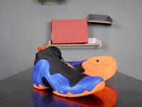비행 Posite 닉스 남자 농구 신발 페니 HardAway 프로 레이서 블루 전체 오렌지 블랙 고품질 망 스포츠 스 니 커 즈 크기 8-12