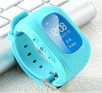 Q50 GPS Tracker Çocuklar Akıllı İzle SOS Çağrı Konum Bulucu Bulucu Tracker'lar Çocuklar Karşıtı Kayıp Monitör Kid Smartwatch'larda Giyilebilir Cihazlar DHL MQ