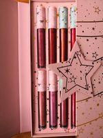 nuovo di alta qualità troppo f 12-colore delle labbra di colori di regalo di natale labbra colori Christmas Gifts Consegna gratuita