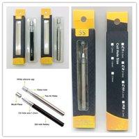 5S C1 C2 monouso Vape Penne Kit Cartuccia di ceramica di vetro Coil 0,3 ml 0,5 ml 320mAh Batteria per Thick olio di metallo Drip Tips con le scatole di imballaggio
