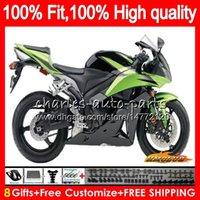 Iniezione per Honda CBR 600 RR 600cc 2009 2010 2011 2012 verde fabbrica 74NO.88 CBR600 RR CBR 600RR 600F5 CBR600RR F5 09 10 11 12 OEM carenatura