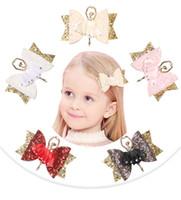 Baby Girls Barrette Kids Bokwnot Barrettes Barrettes Enfants Balle-Ballet Fille Coupes à cheveux Coiffure Accessoire A356