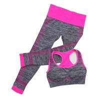 Fitness Clothing Suit Female Yoga Clothing 2 Sets Of Spring ...