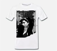 T-Shirt Maglia Amy Winehouse Back To Black Grande Voce Mito-Zitat 4 S-M-L-Xl Printed T-Shirt