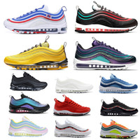 2019 Hombres Zapatos para correr Court purple Throwback Future NEON SEOUL Triple Black White Bright Citron Women Mens Trainer Sports Sneakers 36-45