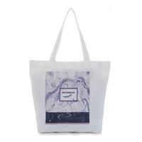 dbcec44565 buona qualità vendita calda donne marmorizzate borsa di tela casual stampa  selvaggia shopping bag estate borsa da spiaggia grande capacità femminile