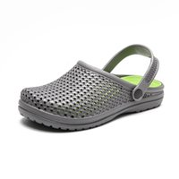 Hole Shoes Male Mens Shoes Crocse Sandals Sandalias Summer S...