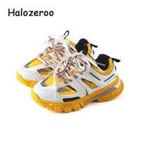 Automne New Kids Sport Chaussures Enfants Casual Sneakers Bébés filles Mesh Chaussures de course Garçons Marque Chunky Baskets Sneakers