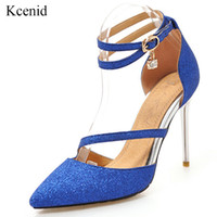 Kcenid Women shoes high heel 2019 summer fashion sexy sequin...