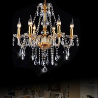 Crystal chandelier living room dining room hotel project Eur...