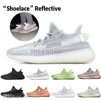 Hot Kanye West Clay V2 Static Reflective GID Glow In The Dar...