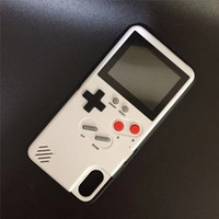 Game Boy Phone Cases para Iphone Xs Pantalla completa para Iphone X Iphone 7 8 Teléfono de juegos Contraportada