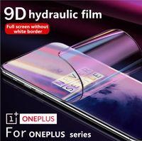 oneplus 전화 영화에 대 한 화면 보호기 Hydrogel 필름 전체 커버 소프트 OnePlus 5 5T 6T 7 7PRO 지원 2PCS 배달