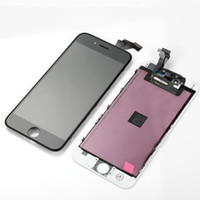 الصورة الحقيقية أعلى درجة الجودة آيفون 6 6G شاشة LCD تعمل باللمس محول الأرقام الجمعية أبيض وأسود اللون الكمال التعبئة مزيج اللون