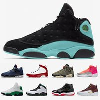 13s chanceux Green Island Vert Chaussures Hommes Basketball 11s Bred 9s Gym rouge 4s Loyal Bleu Travis Cactus Jack 6 12s chaussures de sport