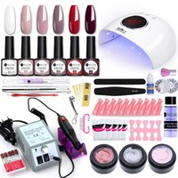 UR SUGAR Super Manicure Set for Nail Kit with Led Nail Lamp ...