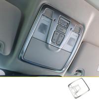 Toit Lsrtw2017 en acier inoxydable voiture liseuse Cadre Trims Décoration pour Changan CS75 2018 2019 Intérieur Accessoires